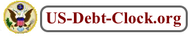 US National Debt Clock Org Logo